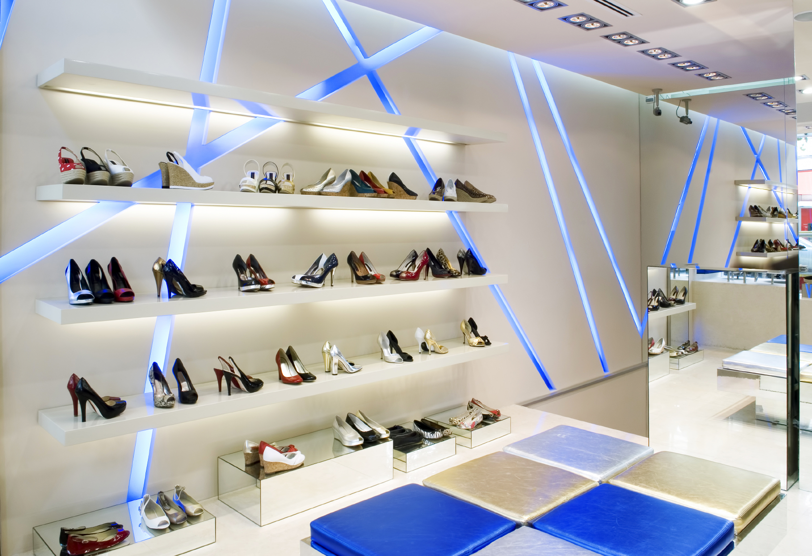 LED lighting for retail shops